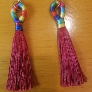 Bohemian Tassel Dangle Earrings